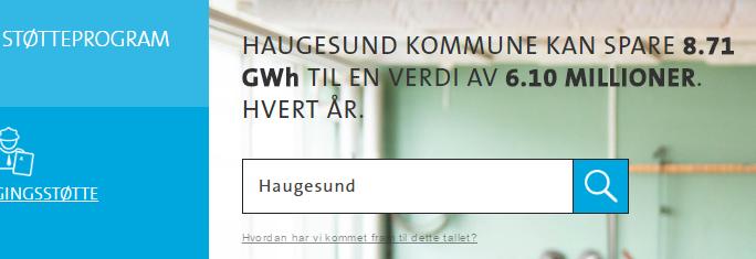 STØTTE TIL ENERGI- OG KLIMATILTAK